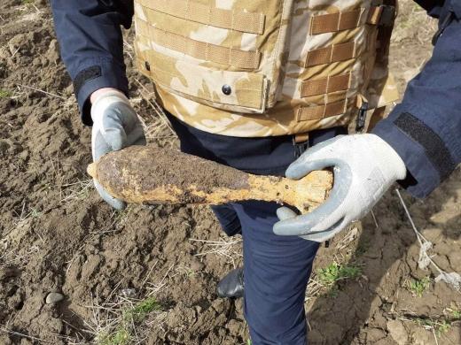 На Закарпатті піротехніки знищили міну та гранату часів Другої світової війни (ФОТО)