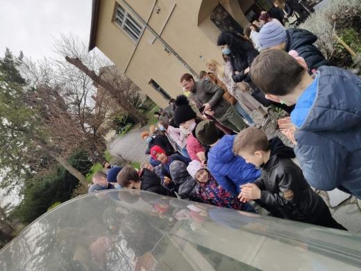 Екскурсію до місця, де була підписана Ужгородська Унія, провели для дітей