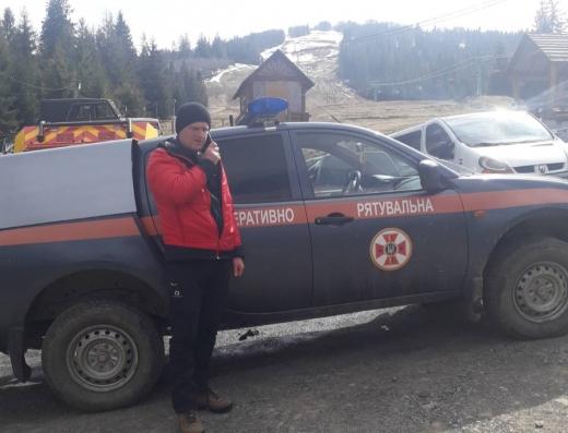 Рятувальники Закарпаття відновили пошук 40-річного туриста з Києва
