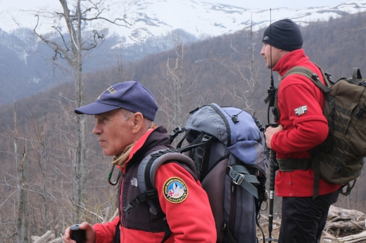 На Закарпатті поновили пошуки в горах тіла заблукалого туриста з Києва (ФОТО)