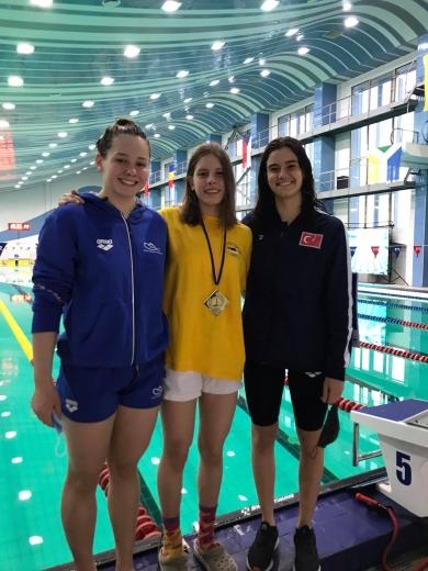 Ужгородка успішно дебютувала на міжнародних змаганнях із плавання