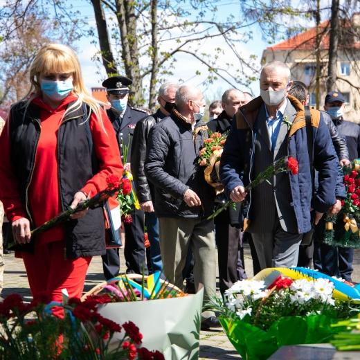 Ліквідаторів аварії на ЧАЕС вшанували в Ужгороді
