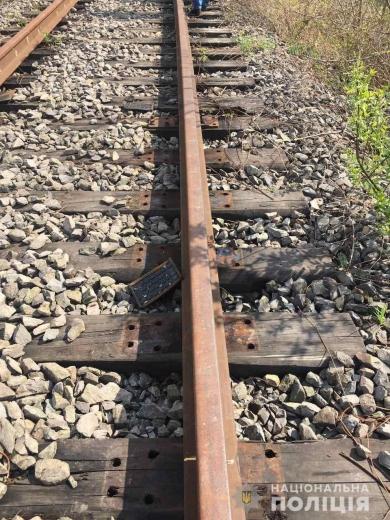 Закарпатець вкрав деталі із залізничної колії