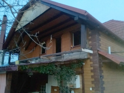 На Мукачівщині горів житловий будинок