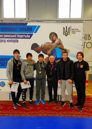 Україну на чемпіонаті Європи з греко-римської боротьби серед юніорів представлять троє закарпатців