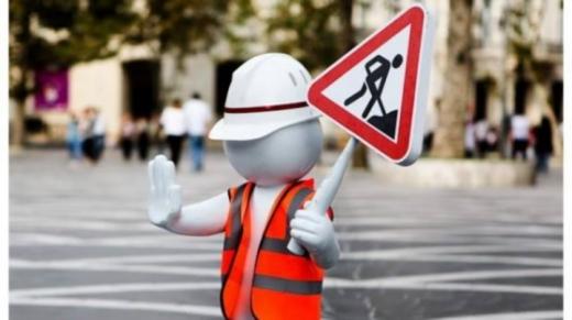 До уваги водіїв: в Ужгороді на одному з перехресть проводять ремонтні роботи