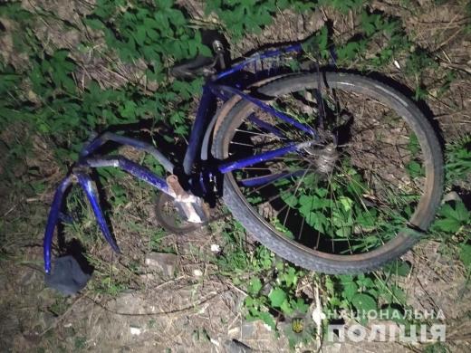 На Закарпатті розшукали п'яного водія, який збив велосипедиста та втік