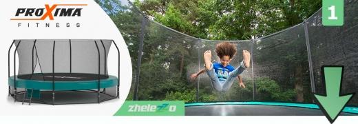 Вибирайте садовий батут у магазині Zhelezzo