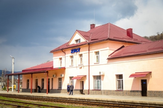 У Хусті завершилася реконструкція вокзального комплексу