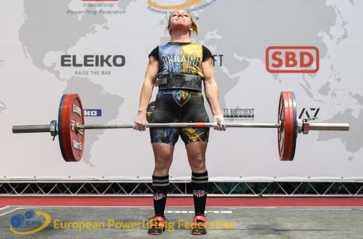 Закарпатські спортсмени вибороли 3 золоті медалі на чемпіонаті України з пауерліфтингу