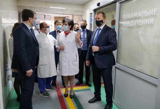 В Ужгородській міській центральній клінічній лікарні відкрили відділення екстреної медичної допомоги