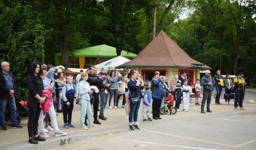 У Боздоському парку юні спортсмени вражали показовими виступами
