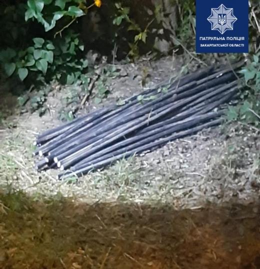 Ужгородські патрульні виявили ймовірного крадія