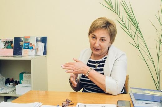 Ужгородську лікарку нагородили званням заслуженого лікаря України