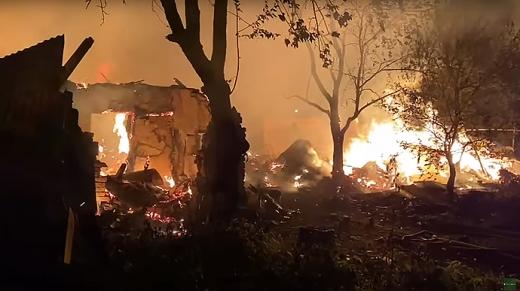 Пожежа в ромському поселенні в Ужгороді: подробиці