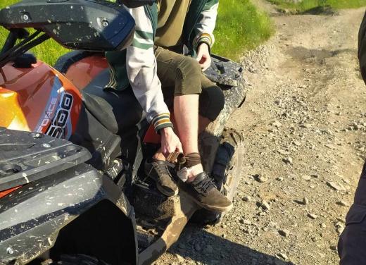 Гірські рятувальники транспортували туриста, якого вкусила змія