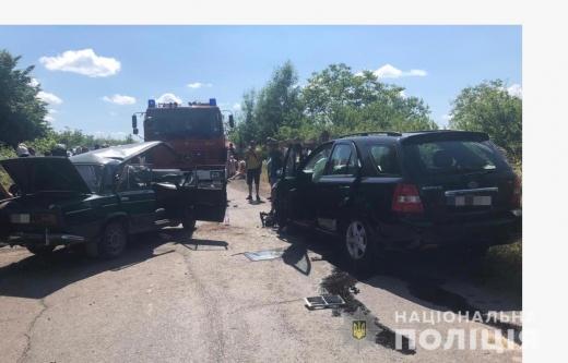 В аварії на Берегівщині травмувались четверо осіб, серед яких малолітня дитина