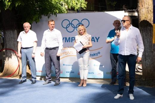 В Ужгороді відзначили Міжнародний Олімпійський день