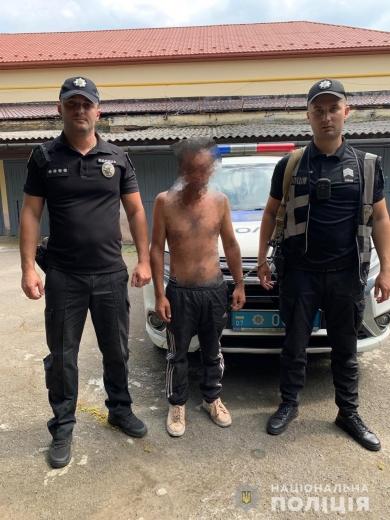 В Берегові поліцейські затримали раніше судимого грабіжника