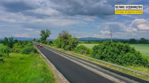 На Закарпатті відновлюють 134 км автошляху міжнародного значення М-06 Київ – Чоп