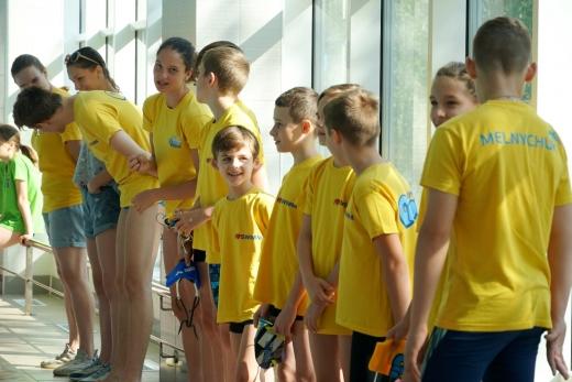Після капітального ремонту відкрили оновлений басейн у Класичній гімназії