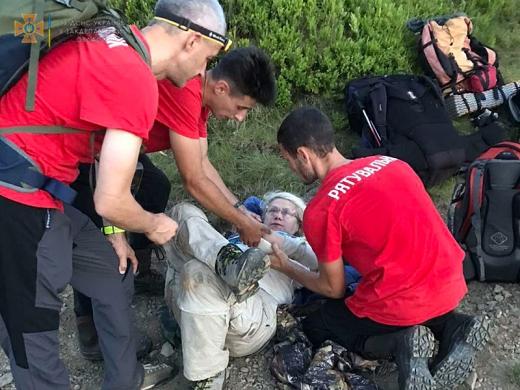 За два дні рятувальники чотири рази виїжджали на пошукові роботи в гори