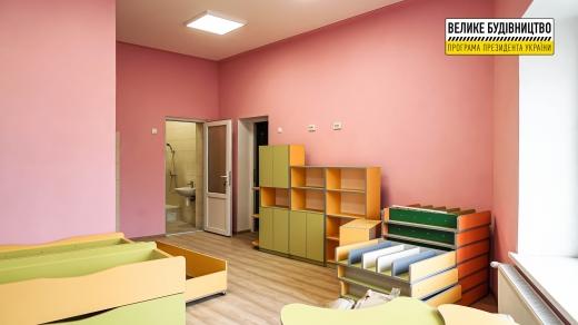 На Тячівщині завершили будівництво дитячого садка