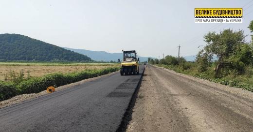 На Закарпатті відновлюють дорогу до туристичних родзинок «Шаян» і «Велятино»
