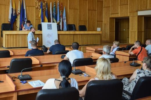 26 липня в Ужгородській міськраді - громадські слухання