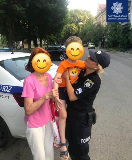 В Ужгороді загубився маленький хлопчик