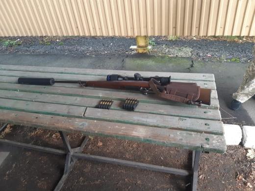 На кордоні з Угорщиною виявили зброю та набої
