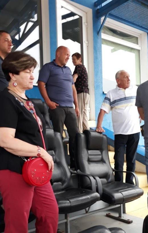 В Ужгороді обстежували стадіон «Авангард»: подробиці