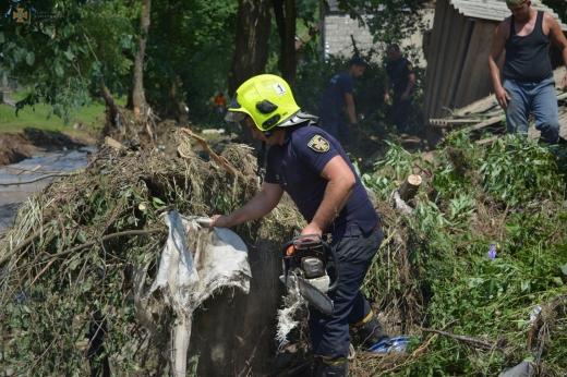 Стала відома сума збитків від цьогорічного паводку на Рахівщині
