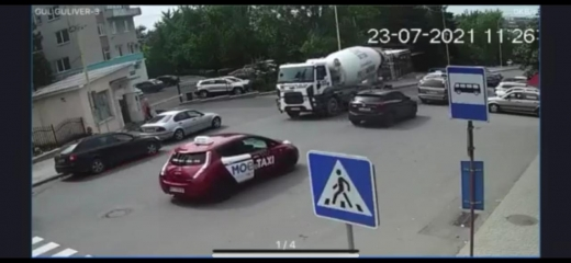 За забруднення вулиці водій вантажівки понесе адміністративне покарання