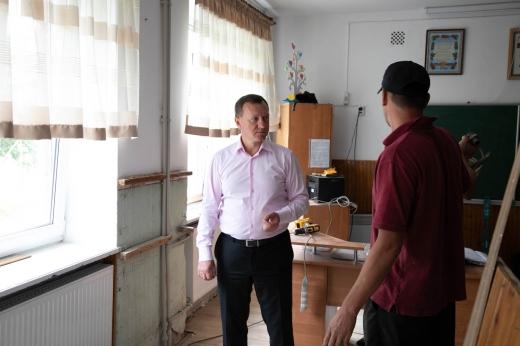 В ужгородській школі №19 – капітальні ремонти