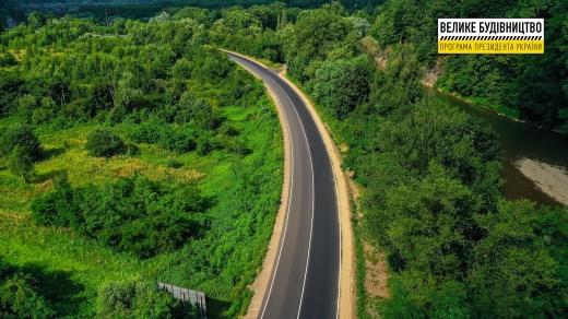 У с. Кам'яниця завершують ремонт дороги національного значення