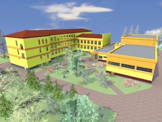 На території Полянської школи з'явиться сучасний басейн та спортзал