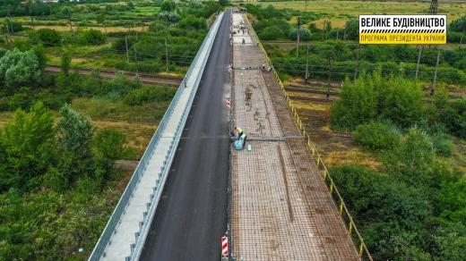 На Закарпатті відновили частину найдовшого шляхопроводу