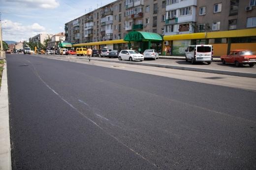 Асфальтування вулиці Капушанської в Ужгороді: що вже зробили