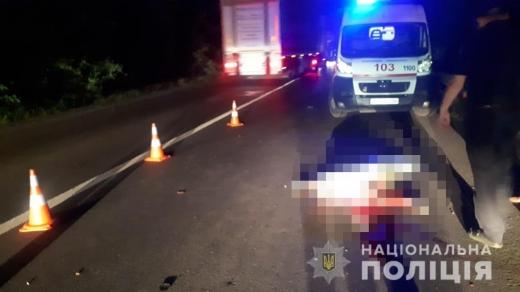 Смертельна ДТП на Закарпатті: чоловік помер на місці події