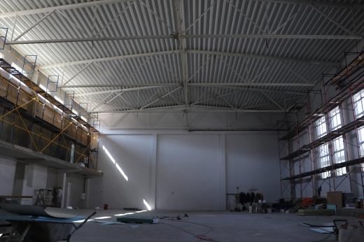 Реконструкція найбільшого спорткомплексу області триває