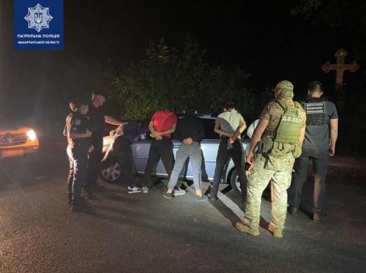 На Ужгородщині виявили групу нелегалів