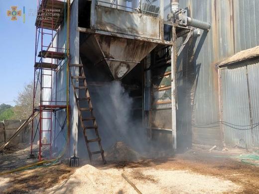 На двох деревообробних підприємствах спалахнули пожежі: подробиці
