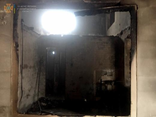 В Ужгороді горіли складські приміщення