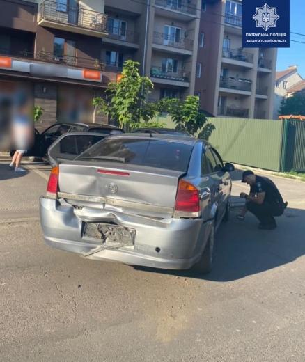 В Ужгороді нетверезий водій вчинив ДТП