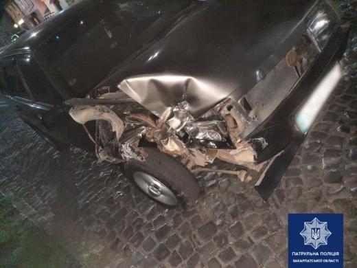 В Мукачеві нетверезий водій скоїв ДТП: подробиці