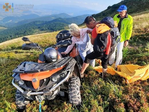 За вихідні дві туристки травмувалися в Карпатах