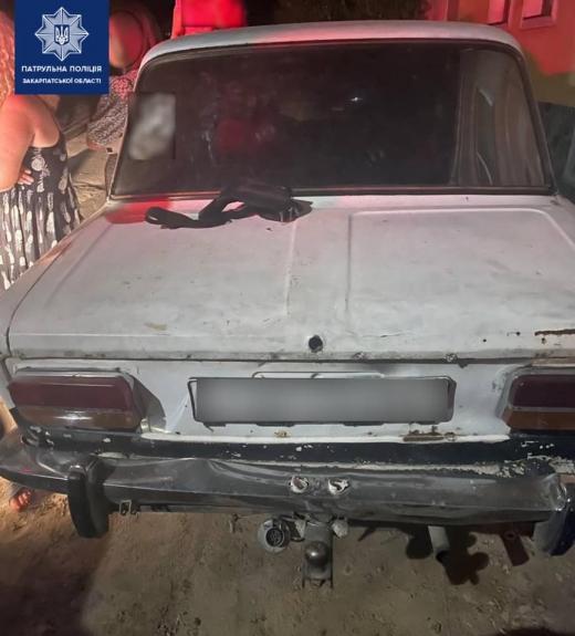 Патрульні виявили нетверезого водія, який після позбавлення права керування судом, керував автомобілем