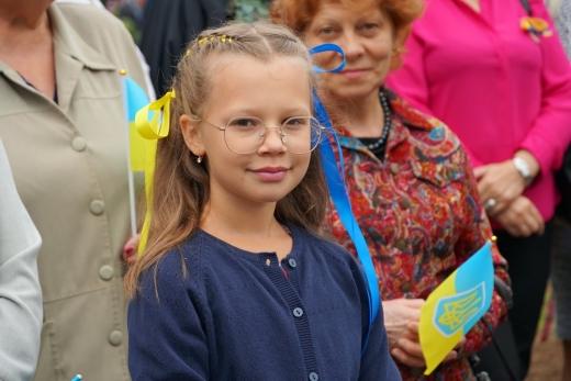 В Ужгороді встановили найвищий на Закарпатті Державний прапор України