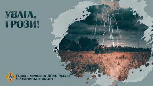Закарпатські синоптики попередили про погіршення погодних умов
